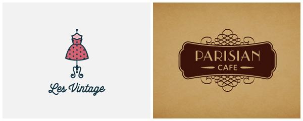 Les Vintage / Parisian Cafe