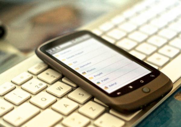 smartphone app dropbox mobile phone