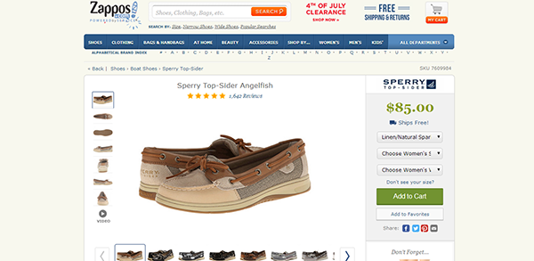 7 Usability Best Practices of eCommerce Product Pages 3
