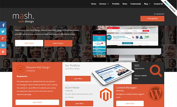 Mash Web Design