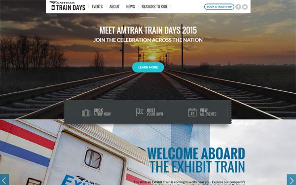 Amtrak Train Days