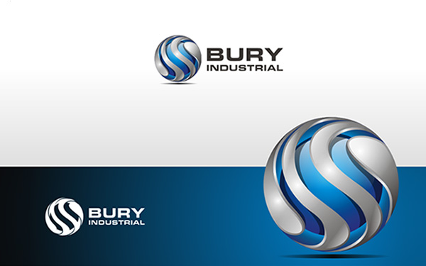 Bury Industrial Logo