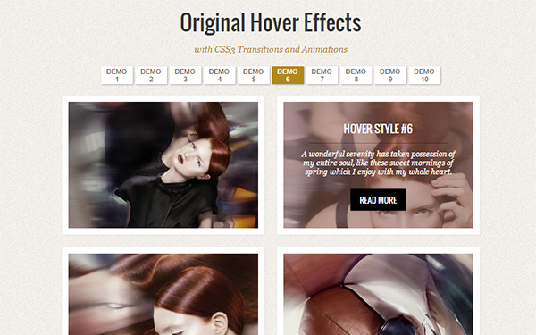 Original Hover Effects with CSS