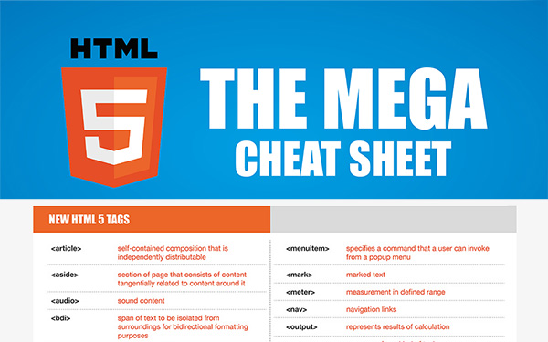 Cheat Sheets for Frontend Developers
