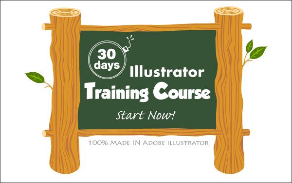 Learn Adobe Illustator in 30 Days