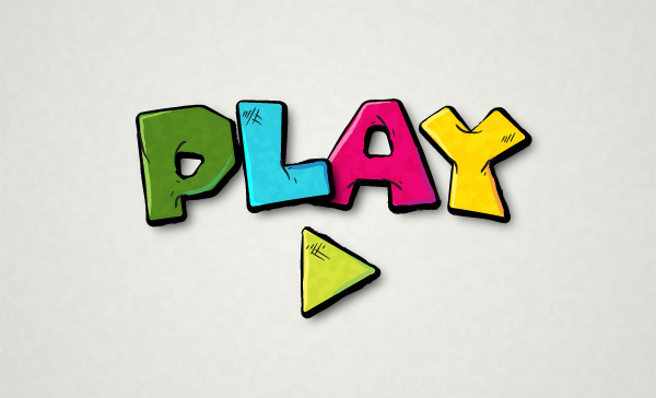 Create a Cartoonish Games Text Effect in Illustrator