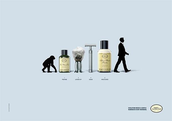 The Art of Shaving: Evolution