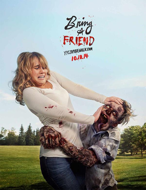 ZombieWalkCalgary: Bring a friend