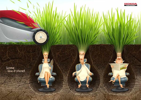 Honda Lawn mowers: Some like it short