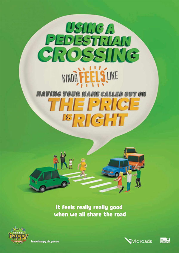 VicRoads: Share the road, 2